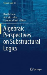 Omslag - Algebraic Perspectives on Substructural Logics