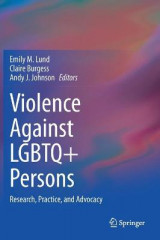Omslag - Violence Against LGBTQ+ Persons