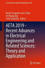 Omslag - AETA 2019 - Recent Advances in Electrical Engineering and Related Sciences: Theory and Application