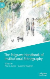 Omslag - The Palgrave Handbook of Institutional Ethnography
