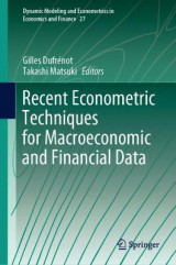 Omslag - Recent Econometric Techniques for Macroeconomic and Financial Data