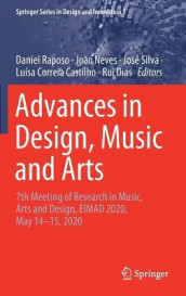 Advances in Design, Music and Arts (Innbundet)