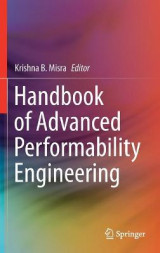 Omslag - Handbook of Advanced Performability Engineering