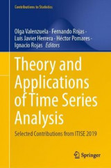 Omslag - Theory and Applications of Time Series Analysis