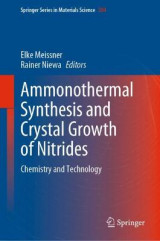 Omslag - Ammonothermal Synthesis and Crystal Growth of Nitrides