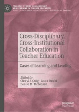 Omslag - Cross-Disciplinary, Cross-Institutional Collaboration in Teacher Education