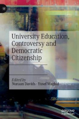 Omslag - University Education, Controversy and Democratic Citizenship