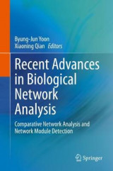 Omslag - Recent Advances in Biological Network Analysis