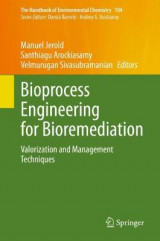 Omslag - Bioprocess Engineering for Bioremediation