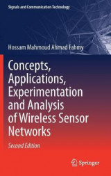 Omslag - Concepts, Applications, Experimentation and Analysis of Wireless Sensor Networks