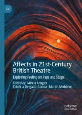 Omslag - Affects in 21st-Century British Theatre