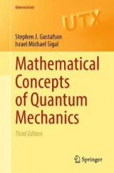 Omslag - Mathematical Concepts of Quantum Mechanics