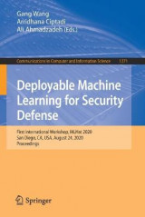 Omslag - Deployable Machine Learning for Security Defense