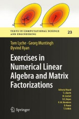 Omslag - Exercises in Numerical Linear Algebra and Matrix Factorizations