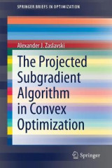 Omslag - The Projected Subgradient Algorithm in Convex Optimization