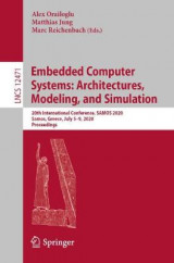Omslag - Embedded Computer Systems: Architectures, Modeling, and Simulation