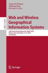Omslag - Web and Wireless Geographical Information Systems
