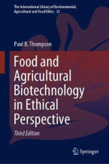 Omslag - Food and Agricultural Biotechnology in Ethical Perspective