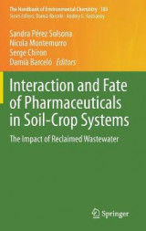 Omslag - Interaction and Fate of Pharmaceuticals in Soil-Crop Systems