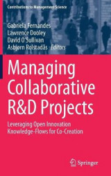 Omslag - Managing Collaborative R&D Projects