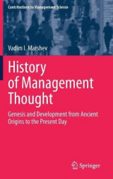 Omslag - History of Management Thought