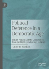 Omslag - Political Deference in a Democratic Age