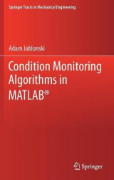 Omslag - Condition Monitoring Algorithms in MATLAB (R)