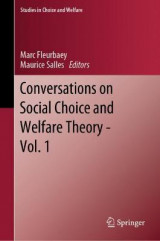 Omslag - Conversations on Social Choice and Welfare Theory - Vol. 1