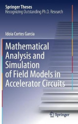 Omslag - Mathematical Analysis and Simulation of Field Models in Accelerator Circuits