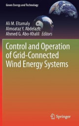 Omslag - Control and Operation of Grid-Connected Wind Energy Systems