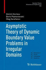 Omslag - Asymptotic Theory of Dynamic Boundary Value Problems in Irregular Domains