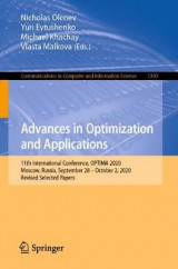 Omslag - Advances in Optimization and Applications