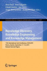 Omslag - Knowledge Discovery, Knowledge Engineering and Knowledge Management