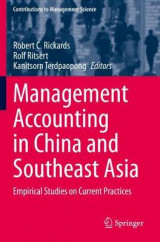 Omslag - Management Accounting in China and Southeast Asia