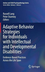 Omslag - Adaptive Behavior Strategies for Individuals with Intellectual and Developmental Disabilities