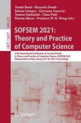 Omslag - SOFSEM 2021: Theory and Practice of Computer Science