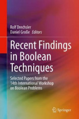 Omslag - Recent Findings in Boolean Techniques