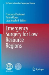 Omslag - Emergency Surgery for Low Resource Regions
