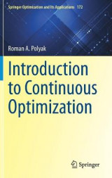 Omslag - Introduction to Continuous Optimization