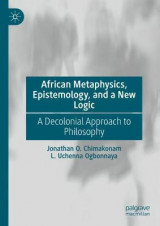 Omslag - African Metaphysics, Epistemology and a New Logic