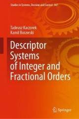 Omslag - Descriptor Systems of Integer and Fractional Orders