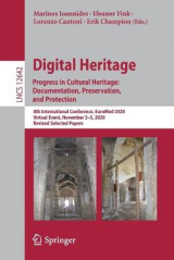 Omslag - Digital Heritage. Progress in Cultural Heritage: Documentation, Preservation, and Protection