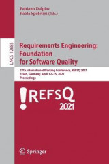 Omslag - Requirements Engineering: Foundation for Software Quality