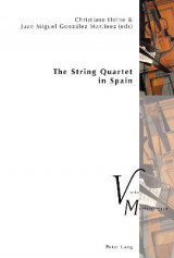 Omslag - The String Quartet in Spain