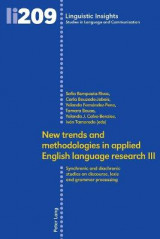 Omslag - New trends and methodologies in applied English language research III