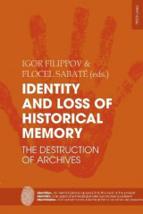 Omslag - Identity and Loss of Historical Memory