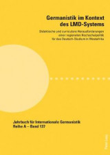 Omslag - Germanistik Im Kontext Des LMD-Systems