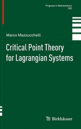 Omslag - Critical Point Theory for Lagrangian Systems