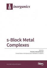 Omslag - S-Block Metal Complexes