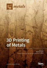 Omslag - 3D Printing of Metals